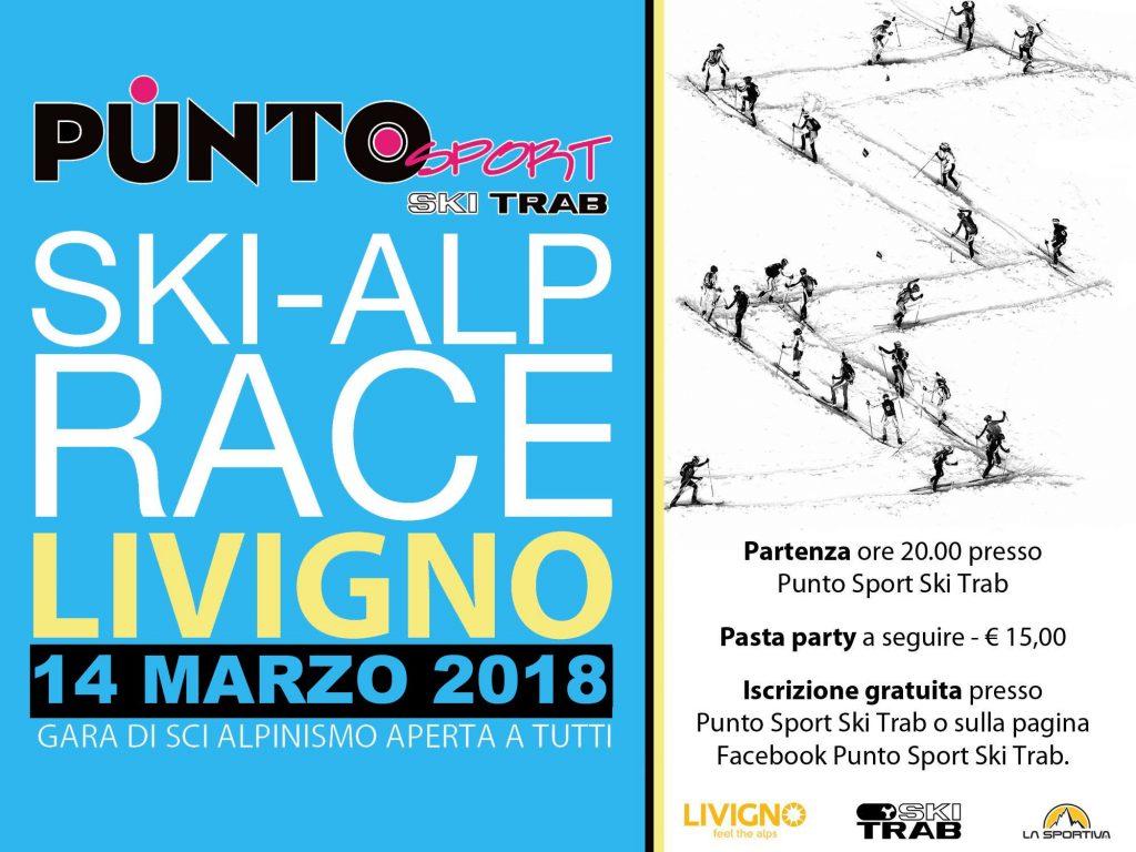 locandina skitrab skialp race 3^ edizione
