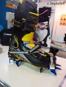 Nuovo rampone Kreutzspitze su scarpone la sportiva