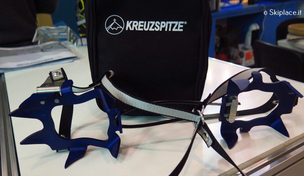 Rampone ultraleggero Kreuzspitze con inserti pin tech