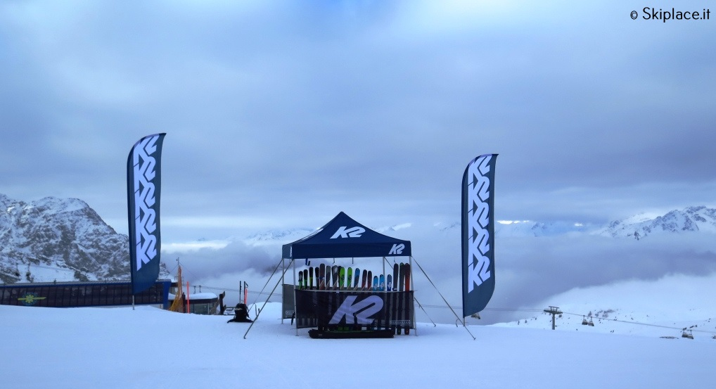 K2 ski test Wayback 2019 madonna di campiglio