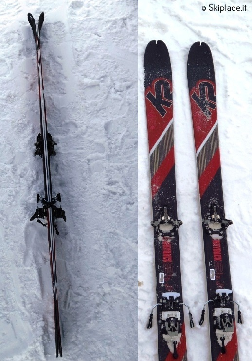 Ski test K2 skis wayback 80