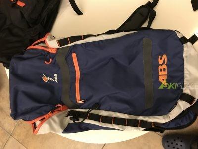 Zaino ABS con sacca 18 L 2 30 L , bombola in carbonio