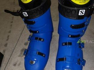 Salomon x max 130 race blue scarponi sci