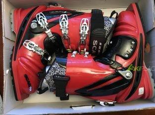 Scarponi da telemark Scarpa T-Race red&black