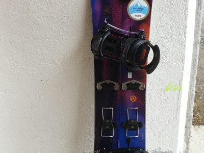 SPLITBOARD BURTON ANTISOCIAL + VOILE' LIGHT RAIL