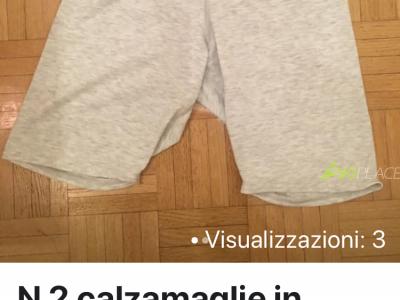 Vendo N 2 calzamaglie in capilene