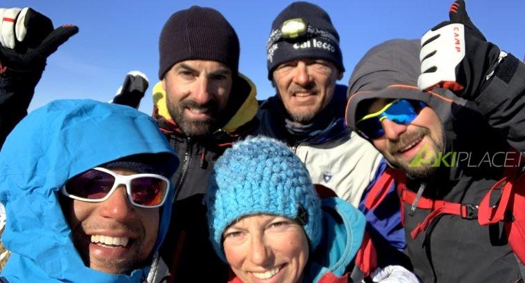 LA TRAVERSATA INTEGRALE DELLE OROBIE IN SCI E SNOWBOARD