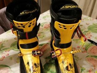 Vendo attrezzatura sci alpinismi