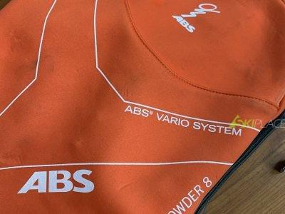 Zaino ABS Vario System Powder 8