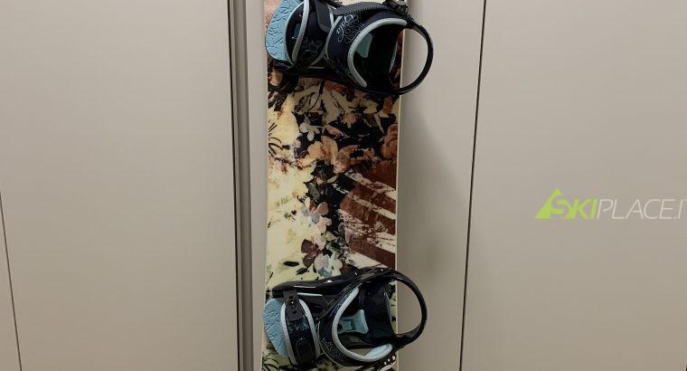 Vendo tavola snowboard donna