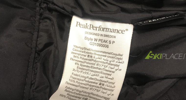 Pantaloni Peak Performance