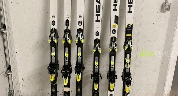 Vendo sci (con attacchi) usati una sola stagione