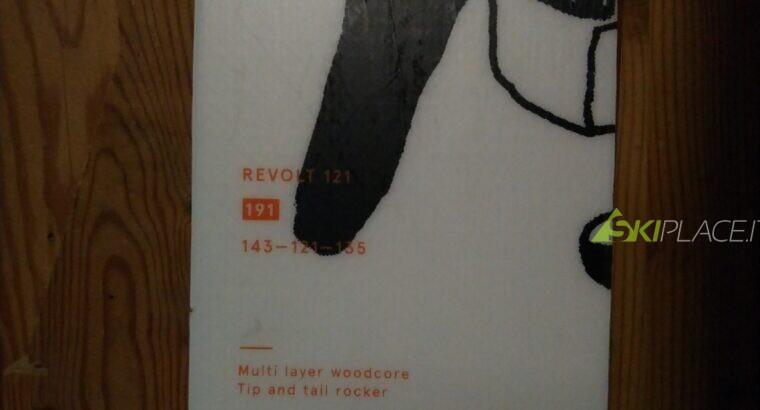 sci freeride Volkl Revolt 121 – L 191