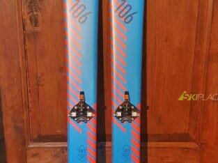 Fischer Hannibal Carbon 106 185cm + Atk Crider12