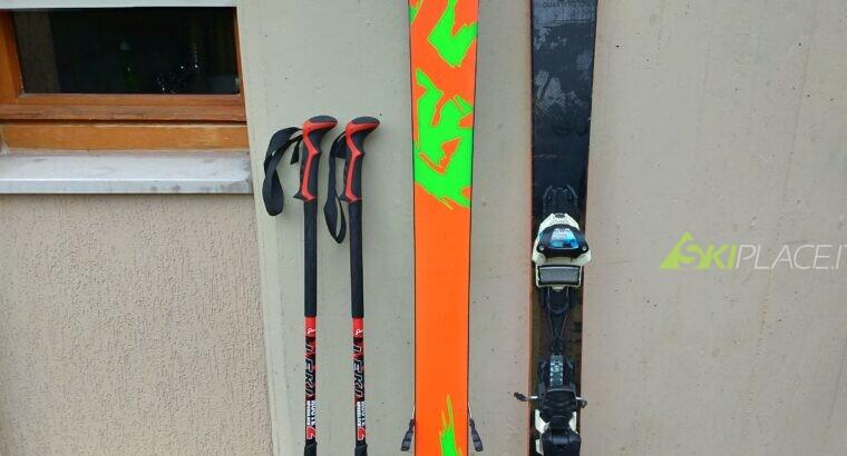 Sci K2 recoil 169cm con sacca Dakine